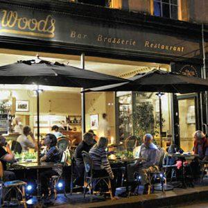 Woods Restaurant, Bath