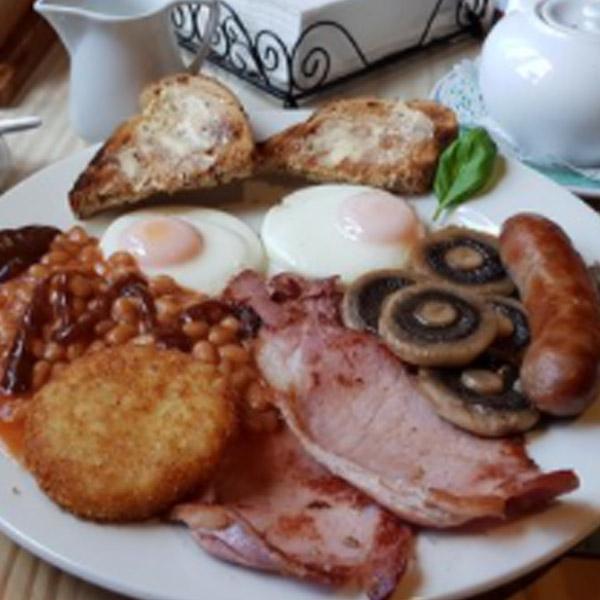 Hartley Farm breakfast